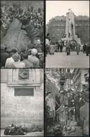 1956-os Fotók: Utcai Jelenetek, Szobordöntés, A Szabad Nép Előtt, Stb., 22 Db Későbbi Előhívás, 9×14 Cm - Other Collections