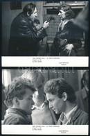 7 Db Filmfotó A Megáll Az Idő C. Filmből, 13×18 Cm - Other Collections