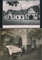 Magyarországi, Budapesti Sörözők, 21 Db Fotó, 12×17 és 17×24 Cm Közötti Méretekben - Other Collections