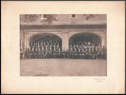 1925 Eger, A Vármegyeház Teljes Tisztviselőkara, Feliratozott, Kiss J. és Fia Egri Fényképészek Pecsétjével Jelzett, 16, - Other Collections