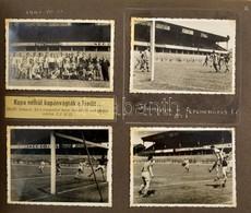 1938-1942 A Hangya Fogyasztási Szövetkezet NB III - NB II. Csapatának 1938-1942 Közötti Focimeccseiről összeállított Fot - Other Collections