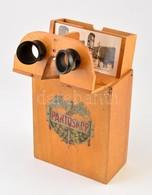 Pantoscop Sztereofotó-néző, 20,5×25×11 Cm + 10 Db Sztereofotó Küölönböző Helyszínekről - Other Collections