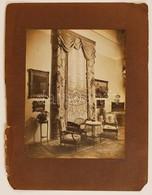 Cca 1930 Kertész Andor: Polgári Lakásbelső, Aláírással Jelzett Vintage Fotó, 22x17 Cm, Karton 32x24 - Other Collections