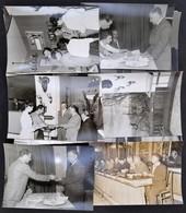 1960 Firenze, Vadászati Világkiállítás 35 Db Fotó. Sajtófotók, Részben Feliratozva. 12x18 és 24x18 Cm Méretben. / Firenz - Other Collections