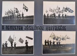 1933 Extra Fotóalbum A Cserkész Világjamboree-ról, 92 Db Fotóval, Feliratozott Oldalakkal, Foltos Borítóval, Belül Jó ál - Padvinderij