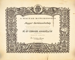 1958-1973 Albany (New York), Az Emigrációban Működő Magyar Cserkészszövetség Cégjegyzéki Kivonata + A Magyar Kongresszus - Padvinderij