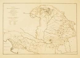 1725 A Kárpát-medence és A Dinári-hegység Bányáinak Térképe. Marsigli, Luigi Ferdinando (1658-1730): Danubius Pannonico- - Mappe