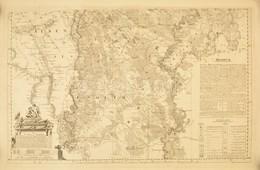 1793 Pest-Pilis-Solt Vármegye, A Jászság és A Kunság Rézmetszetű Térképe. ,,Mappa Specialissima Regionibus Coeli Juxta R - Mappe