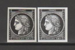 """FRANCE / 2019 / Y&T N° 5305 & 5305A ** : """"Cérès 1849-2019"""" Les 2 TP (du Coffret Prestige & Du Bloc) - France"""