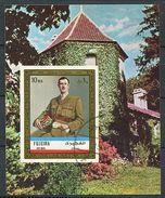 (B  16) Fujeira Ob Michel Bloc N° 101 B - Gal De Gaulle - - Fudschaira