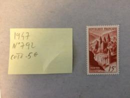 Conques 1947 - Y&T N°792 Timbre Neuf Coté 5€ (Tous En Très Bon état Garantie) - France