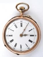14 K Arany, Női Zsebóra. Vésett Tokkal, Működő állapotban, óratartó Dobozzal / 14 C Women's Golden Pocket Watch In Nice  - Unclassified