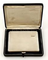Cca 1920 Angol Ezüst(Ag) Cigarettatárca Díszdobozban. Hibátlan, Szép állapotú Birmingham, Joseph Gloster Ltd. Jelzett. 1 - Unclassified