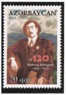 Azerbaijan 2012 .Painter Bahruz Kengerli. 1v: 20.   Michel # 914 - Azerbaiján