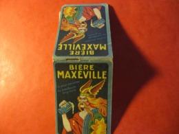 CALEPIN - BIERE MAXEVILLE - Couverture Double, 20 Feuilles Intérieur - Format : 9 X 6 Cm - Alcohols