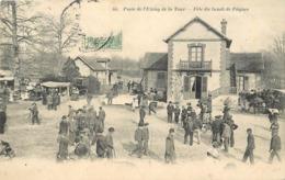 RAMBOUILLET - Poste De L'étang De La Tour, Fête Du Lundi De Pâques. - Rambouillet