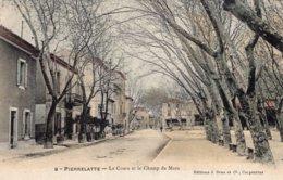 B57833 Cpa Pierrelatte - Le Cours Et Le Champ De Mars - Andere Gemeenten