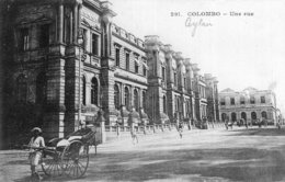 B57836 Cpa Colombo - Une Rue - Sri Lanka (Ceylon)