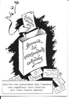 91 - Sainte-Geneviève-des-Bois - Publicité Annuaire Desbois Des Correspondants Cartophiles - Sainte Genevieve Des Bois