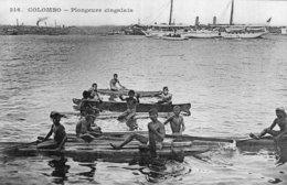 B57837 Cpa Colombo - Plongeurs Cingalais - Sri Lanka (Ceylon)