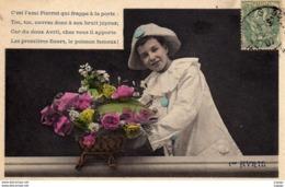 1er AVRIL Poisson D'Avril .C'est L'ami Pierrot Qui Frappe à La Porte.... 2 Scans    TBE - 1er Avril - Poisson D'avril