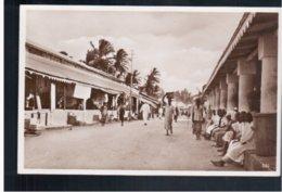 TANZANIA Dar-es-Salam Der Markt- The Market Old Photo Postcard - Tanzania