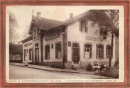 CPA - KAYSERSBERG-ALSPACH (68) - Mots Clés: Ferme-Auberge-Pension EBERWEIN En 1938 - Kaysersberg