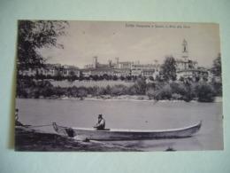 1906  IVREA  PANORAMA E STUDIO IN RIVA DELLA DORA   ANIMATA - Altre Città
