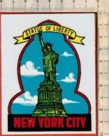 "Antico Adesivo Da Valigia ""NEW YORK CITY"" Stickers Aufkleber Autocollants - Other"