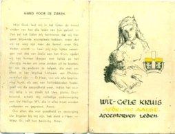 Wit-Gele Kruis Afdeling Aalst - Overleden Leden 1952 - Avvisi Di Necrologio