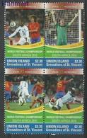 Union Islands 2011 Mi Vie534-537 MNH ( ZS2 SVUvie534-537 ) - Football