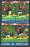 Union Islands 2011 Mi Vie538-541 MNH ( ZS2 SVUvie538-541 ) - Football