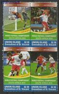 Union Islands 2011 Mi Vie546-549 MNH ( ZS2 SVUvie546-549 ) - Football