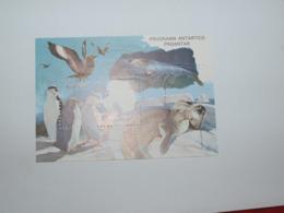 Brésil Bloc Faune Antarctique  Sans Charnière - Antarctic Wildlife