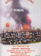TUBIZE  Calendrier Pompiers  2004 - Calendriers
