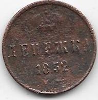 Russie - Denga - 1852 - Rusland