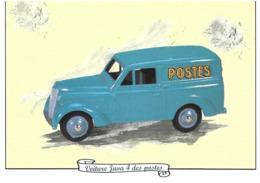 Voiture Juva 4 Des Postes - Postal Stamped Stationery