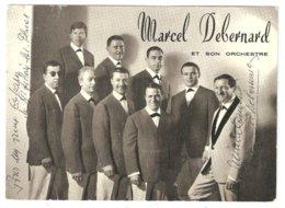 Photo Dédicacée Orchestre Marcel DEBERNARD à Périgueux - Dordogne 24 - Dédicace - Photos