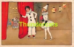 CPA ILLUSTRATEUR B DONDORF LITHO PIERROT CLOWN LITHO CARD BALLET DANCE - Autres Illustrateurs