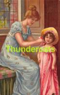 CPA LITHO ILLUSTRATEUR FILLE ENFANT CHILD GIRL KOPAL (  STYLE CLAPSADDLE - BRUNDAGE ) - Autres Illustrateurs