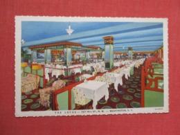 The Lotus Restaurant Of Distinction------ Washington DC  > Ref 3671 - Washington DC