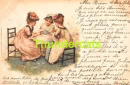 CPA LITHO ILLUSTRATEUR EMIL DOTZERT ENFANT CHILD CHILDREN  (  STYLE CLAPSADDLE - BRUNDAGE ) - Autres Illustrateurs