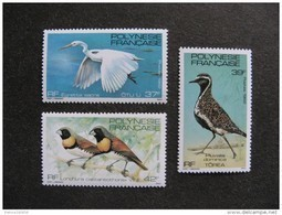 Polynésie: TB Série N° 189 Au N° 191 ,neufs XX . - Polynésie Française