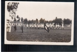 TANZANIA Landing Party At Tanga From HMS Enterprise 1930 Real Photo - Tanzania