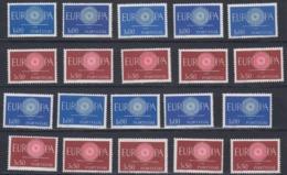 Europa Cept 1960 Portugal 2v (10x) ** Mnh (44989) - 1960