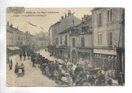 70 - JUSSEY- Défilé Du 4 ème Régiment D' Artillerie - Francia