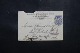 FRANCE - Enveloppe De La Jurisprudence Générale De Paris Pour Bar / Aube Et Redirigé Vers Chauny En 1877 - L 44285 - Marcophilie (Lettres)