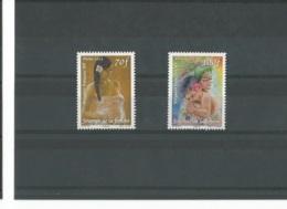 POLYNESIE 2012 - YT 982/983 - NEUF SANS CHARNIERE ** (MNH) GOMME D'ORIGINE LUXE - Neufs