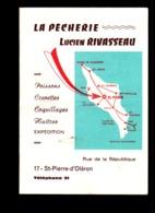 """Publicitaire """" La Pêcherie """" à Saint-Pierre D'Oléron - Publicités"""