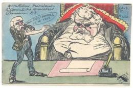 ORENS - L'Actualiste N° 5 -Mr Fallières Président Le Conseil Des Ministres - Clémenceau Dr -Tir.limité 1/100  (1584 ASO) - Orens